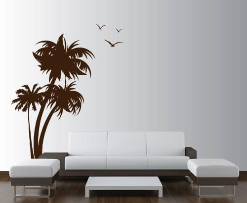 palm tree wall decal