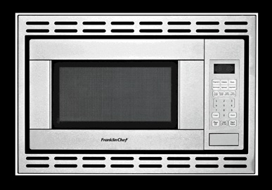 franklin chef rv microwave convection 120v cul stainless s