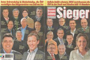 10.03.2014, Krone, Titelblatt