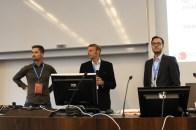 Peter Höflehner (New Media GmbH), Jochen Maier (Personal GPS Solutions), Claus Degendorfer (CodeFlügel GmbH)
