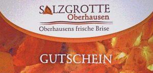 Gutscheine für die Salzgrotte Oberhausen