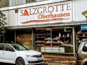 Außenansicht der Salzgrotte Oberhausen von der Langemarkstr. aus