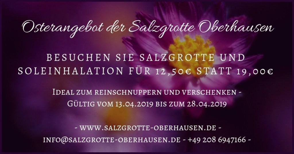Osterangebot der Salzgrotte Oberhausen (1)