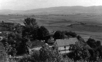 Die ehemalige Siedlung beim Steinbruch. (Foto: Lassan, 1948)