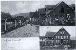 Alte Postkarte aus Ahrenfeld