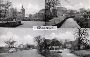 Alte Postkarte aus Benstorf (60er Jahre)