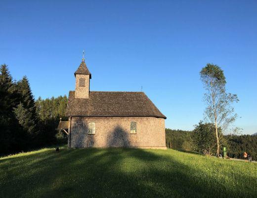 Die Kapelle am Gahberg wurde als Wallfahrtsort errichtet