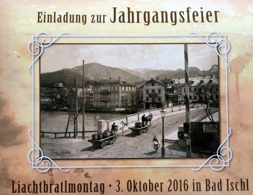 Liachtbraltmontag in Bad Ischl