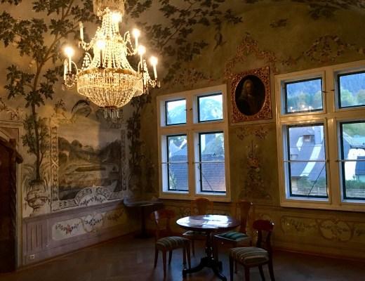 Das Kaiserzimmer im Kammerhofmuseum Bad Aussee