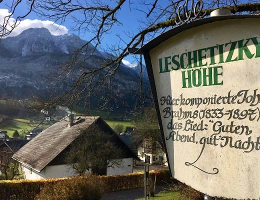 Johannes Brahms in Bad Ischl
