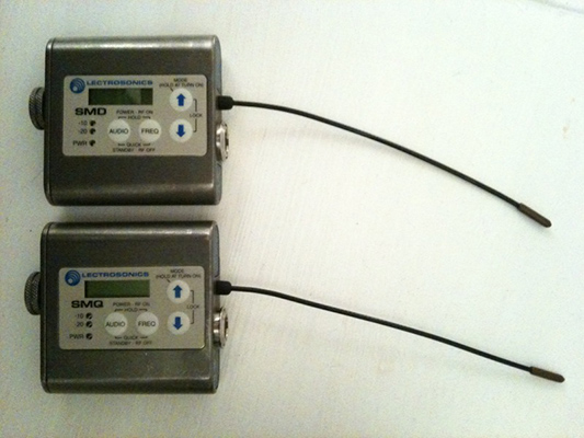 I upgraded to SM Series Lectrosonics!