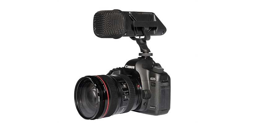 Rode Stereo VideoMic on a Canon 5D DSLR