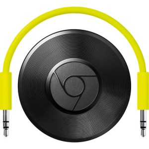The Google Chromecast Audio