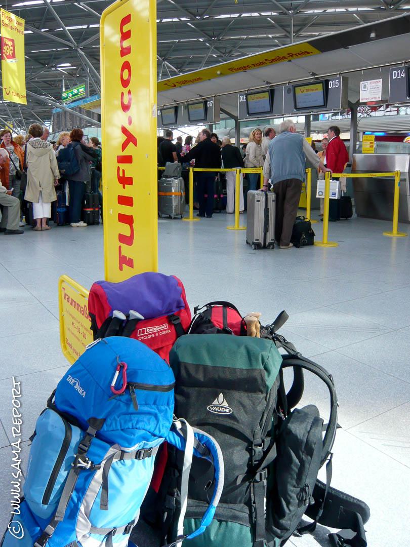 Auf gehts: Zielflughafen Bilbao