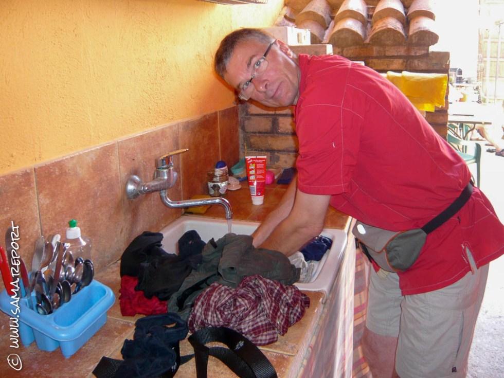 Mal wieder Zeit für Wäsche