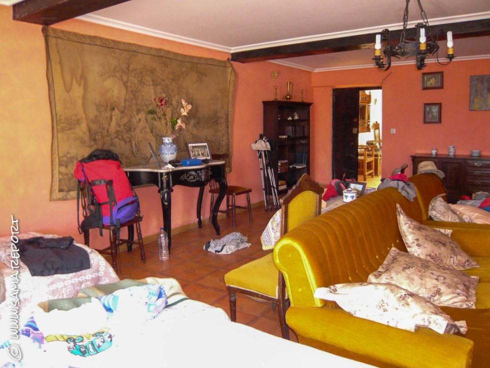 Unser Zimmer in Los Arcos