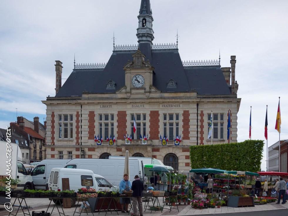 8. Tag: Chauny - Le Metnil-Amelot (Frankreich)