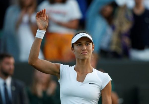 Former champion Sharapova beaten by fellow-Russian qualifier