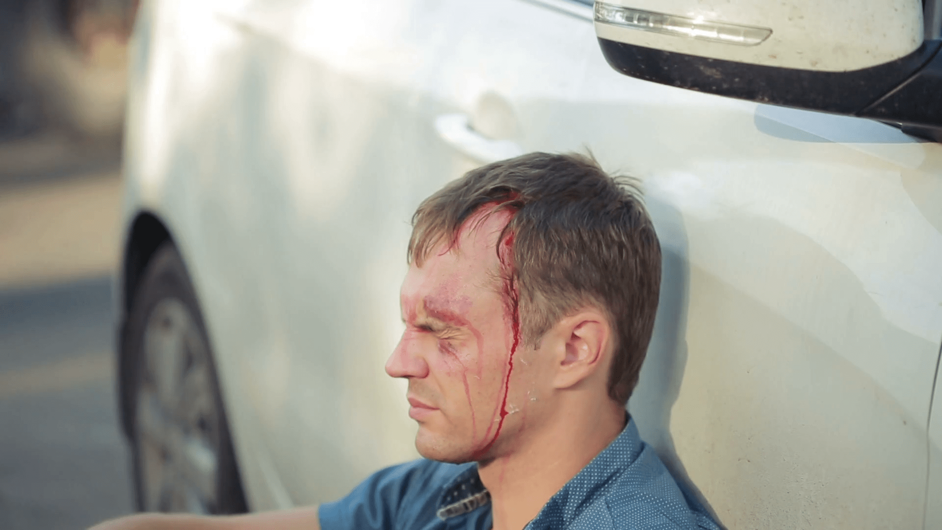 unknow Car Road Accident insurance