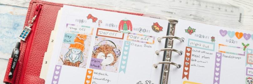 Plan With Me – Pretty Poinsettia