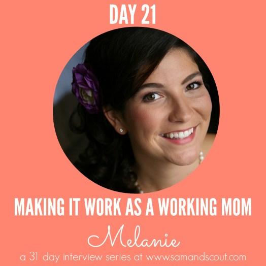 Day 21 - Melanie
