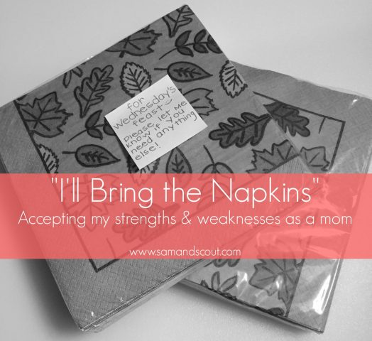 Napkin Mom Banner