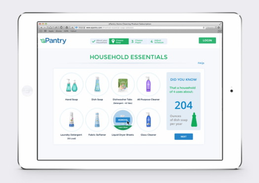 epantry-product-selection