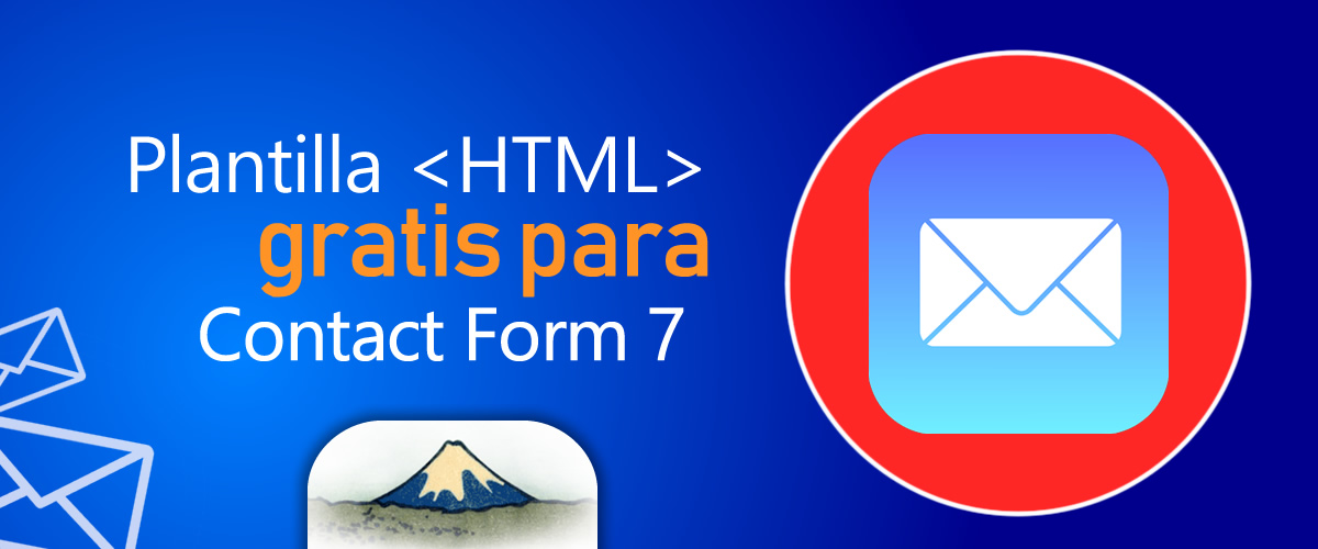 😎 Plantilla HTML para correo de Contact Form 7 Gratis
