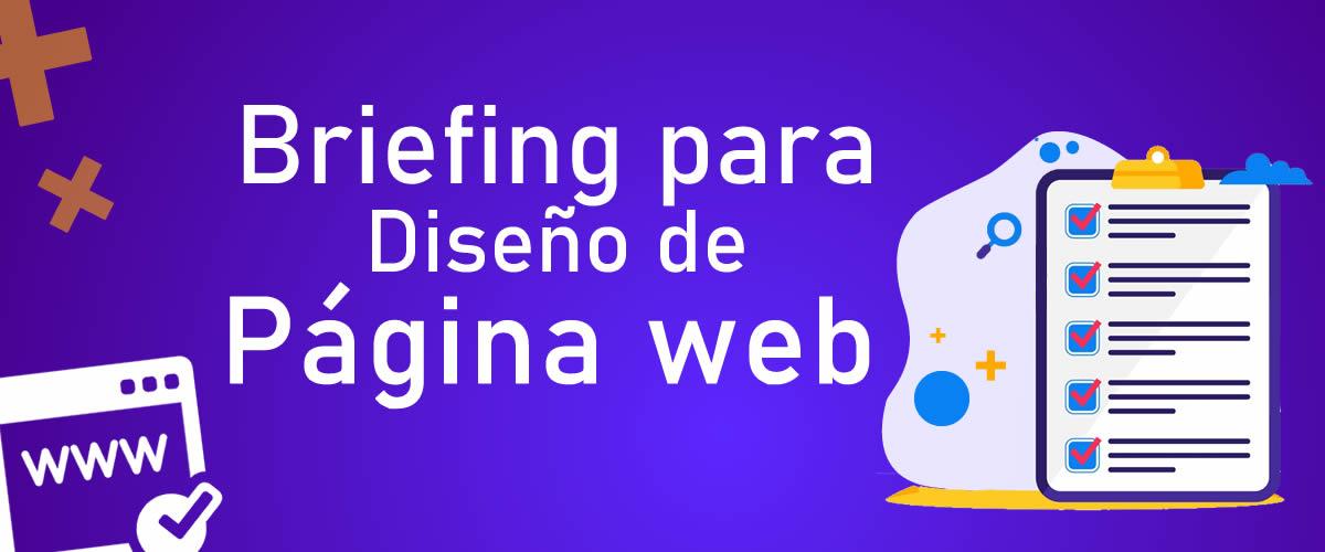 Briefing Marketing Digital para Diseño de páginas web [Plantilla Gratis]