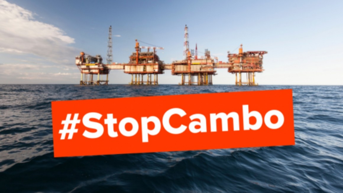 #StopCambo. Activists Urge UK Government To Reject Plans For A New Oilfield. (And I'm Particularly Aggrieved.)