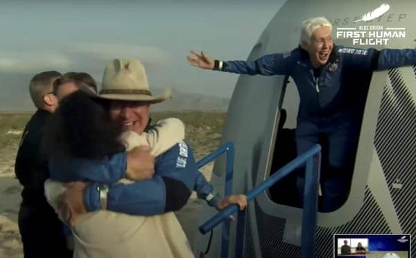 """Wally Gets Her """"Funk"""" On As Oldest Woman To Go To Space!"""