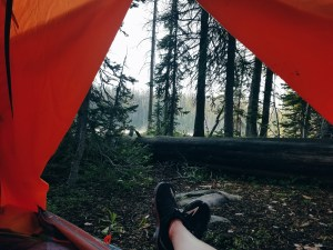Camping in the Uinta Mountains