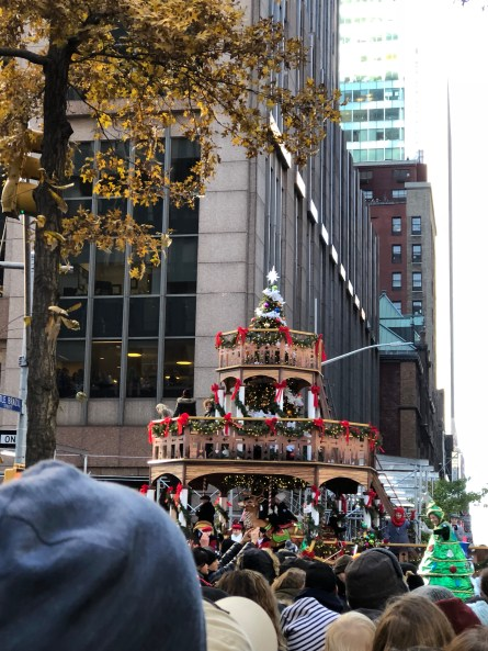 Float at Macy's Thanksgiving Day Parade