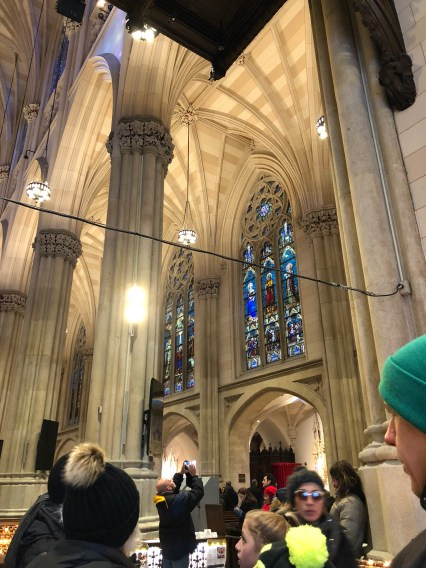 St. Patrick's Cathedral in NYC