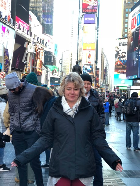 Time Square in NYC