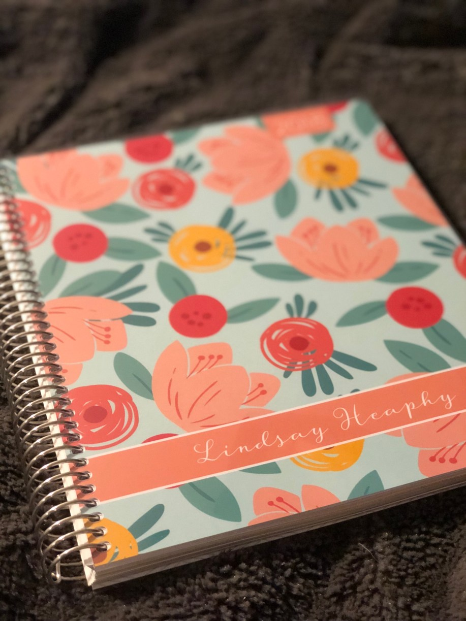 Personalized cover of Plum Paper planner