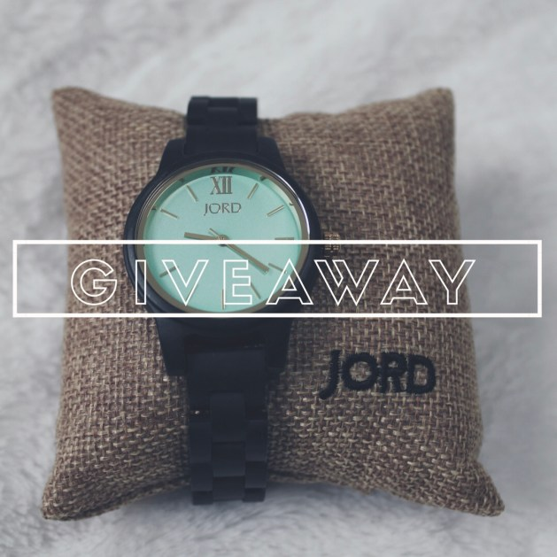 Frankie 35 Dark Sandalwood and Mint JORD wooden watch giveaway link