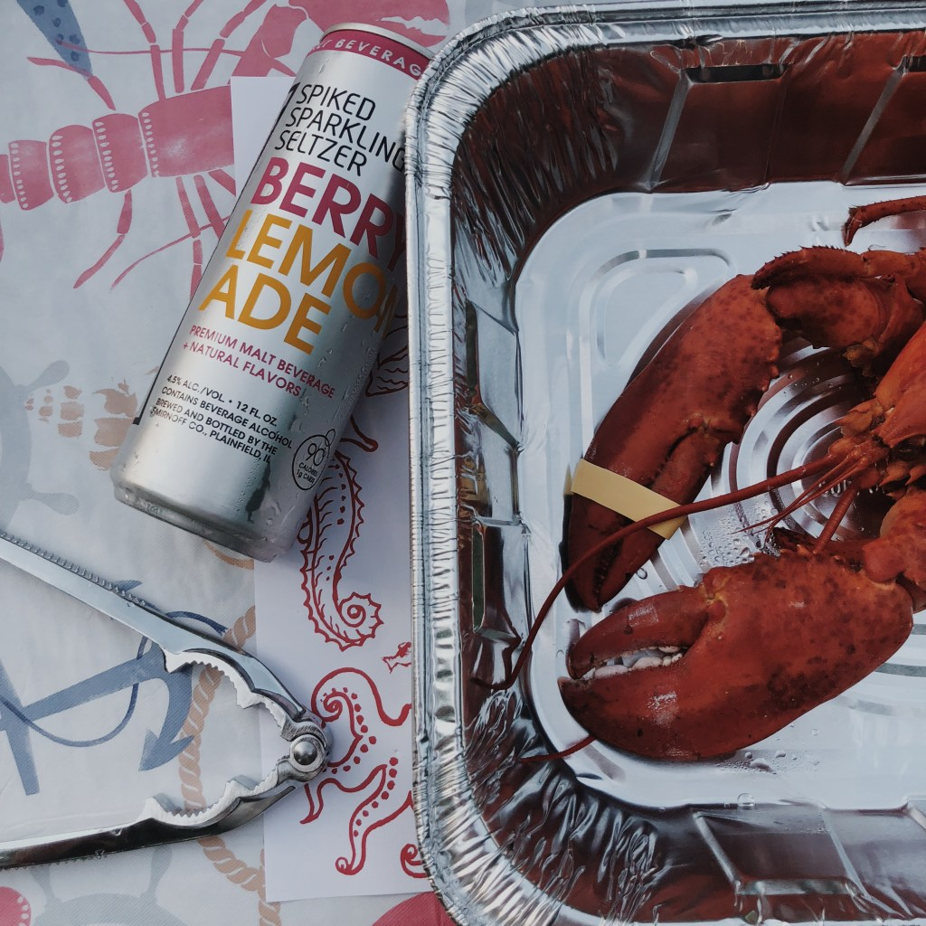 Life Update | Lobster and spiked seltzer 4th of July