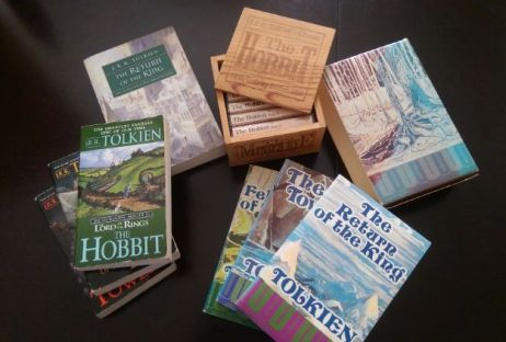 My Tolkien books