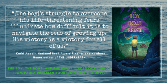 """[The boy]'s struggle to overcome his life-threatening fears illuminate how difficult it is to navigate the seas of growing up. His victory is a victory for all of us."" ~Kathi Appelt, National Book Award Finalist and Newbery Honor-winning author of THE UNDERNEATH and MAYBE A FOX"