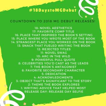 #18DaystoMGDebut