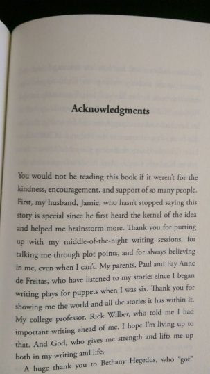 THE BOY, THE BOAT, AND THE BEAST acknowledgements