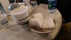 Beignets! Delicious Cafe Du Monde beignets