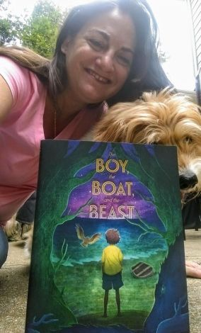 Selfie with THE BOY, THE BOAT, AND THE BEAST