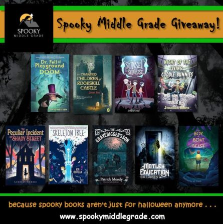 Spooky MG Giveaway