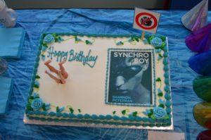 Synchro Boy cake