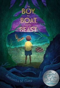 The Boy, The Boat, and The Beast with SCBWI Crystal Kite medal