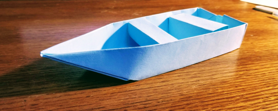 Paper Boat by Samantha M Clark