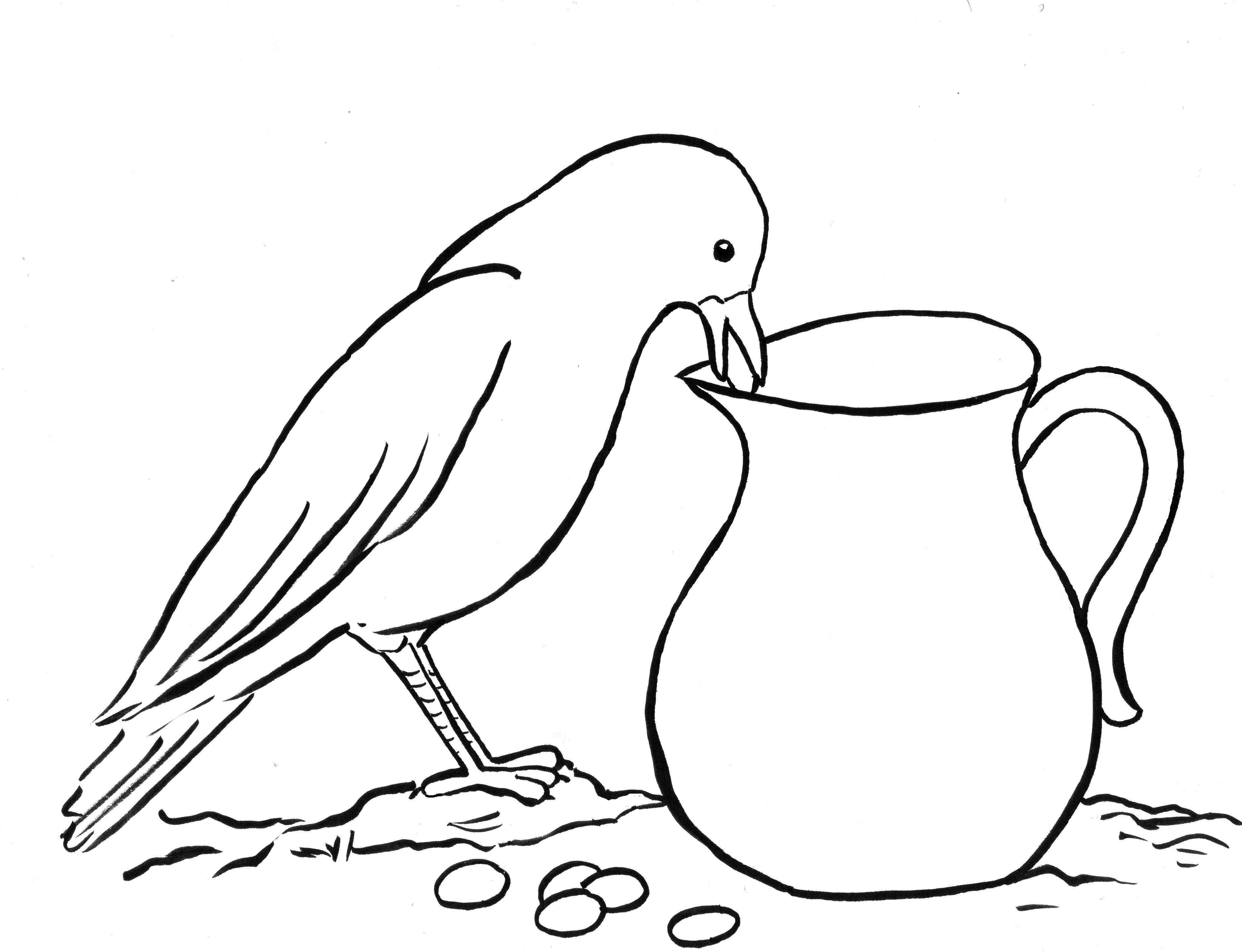 Crow And The Other Birds Worksheet