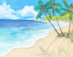 Beach Paradise from Samantha's Treasure on Etsy